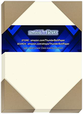 5X7 Inches 80 lb//pound 80# Cardstock Quality 50 Earthy Cottonwood Fiber Paper Sheets Card Weight Paper for Great Results in Expressing Your Arts /& Crafts Skills Photo|Card|Frame Size 5 X 7