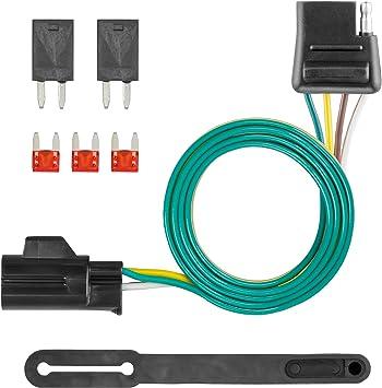 [SCHEMATICS_48DE]  Amazon.com: CURT 56012 Vehicle-Side Custom 4-Pin Trailer Wiring Harness for  Select Chevrolet, Pontiac, Suzuki Vehicles: Automotive | Chevrolet Trailer Wiring Harness |  | Amazon.com