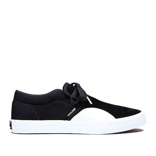 cfce268594 Supra Men's Cuba Shoes, Black-White, ...