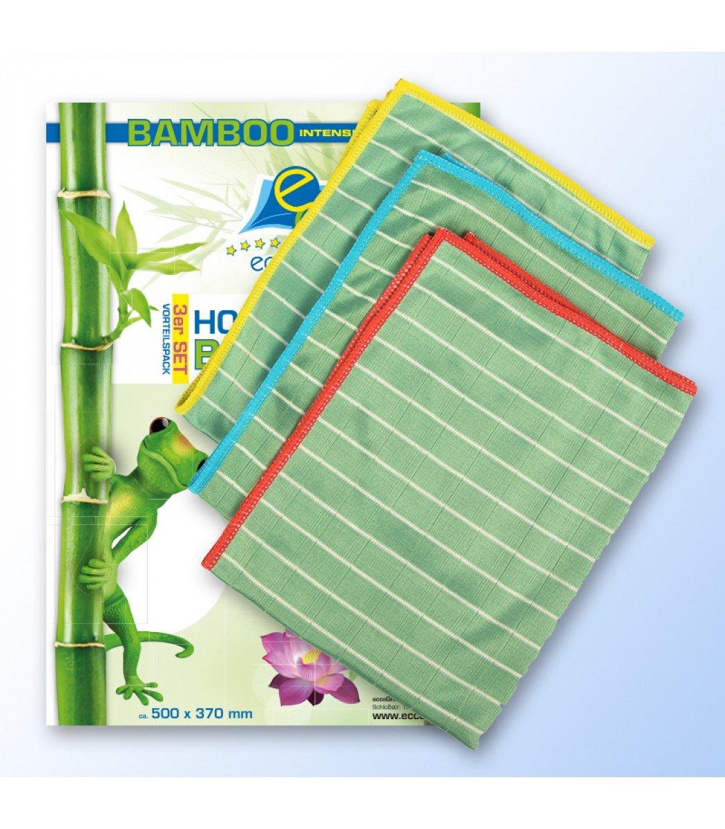 eccogreen 3 x de alto rendimiento bambú toalla & Clean de X ...