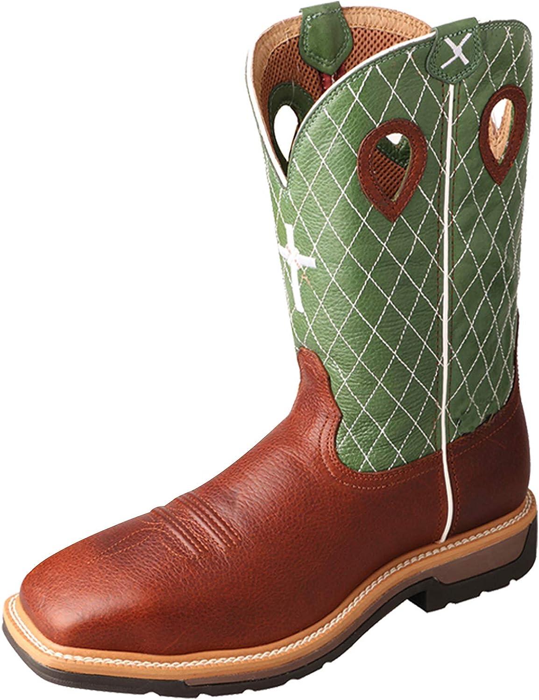 Steel Toe Western Work Boot