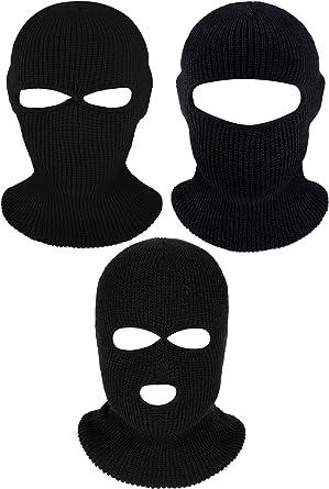 Winter Ski Mask Balaclava Cotton Wind Motorcycle Face Mask Black Magic Scarf