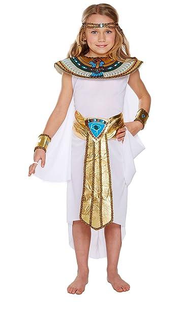 Amazon.com: Ma Online niños Queen Cleopatra vestido egipcio ...