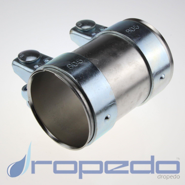 Raccords de canalisation pour Ø 41 mm Pot d/'échappement longueur 125 mm Galvanisé