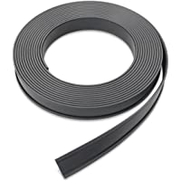 Master Magnetics Flexible Magnet Data Card Holder, 0.125-Inch Thick, 1-Inch Height, 50-Feet Length, 1 Roll