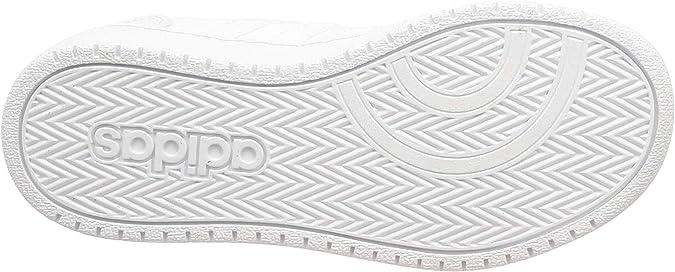 Marina Formular arco  Amazon.com | adidas Hoops 2.0 K F35891 Unisex White Sneakers | Fashion  Sneakers