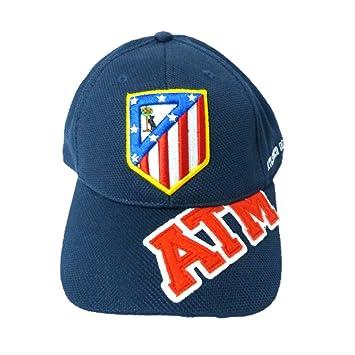 GORRA OFICIAL ATLETICO DE MADRID ATM AZUL 2016 ADULTO: Amazon.es: Deportes y aire libre