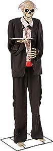 "72"" Halloween Animated Talking Skeleton Butler"
