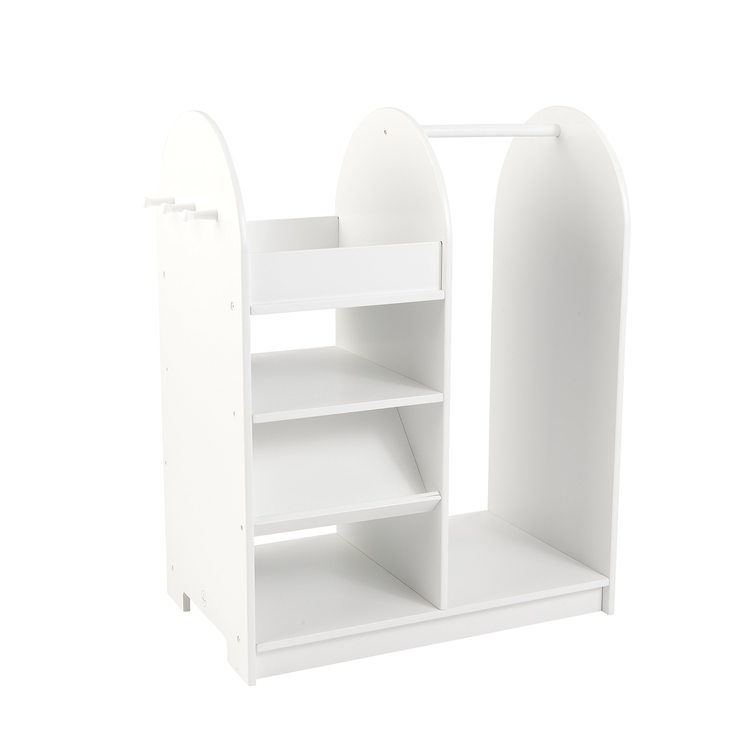 For Kids Only, Inc. KidKraft Fashion Pretend Station White by Kid Kraft