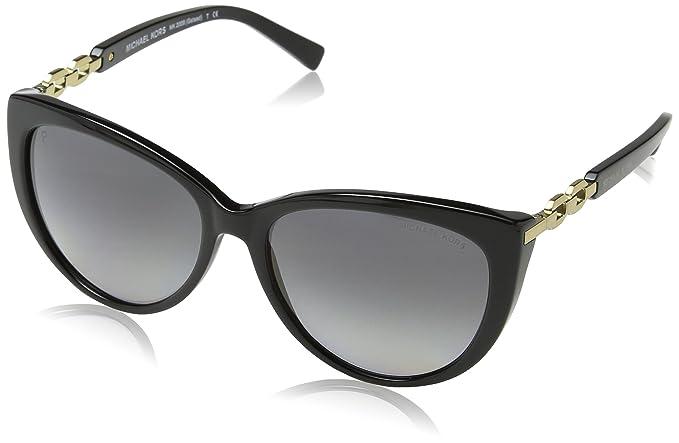 Michael Kors MK2009 Gstaad Gafas de Sol, Black 3005T3, 56 ...