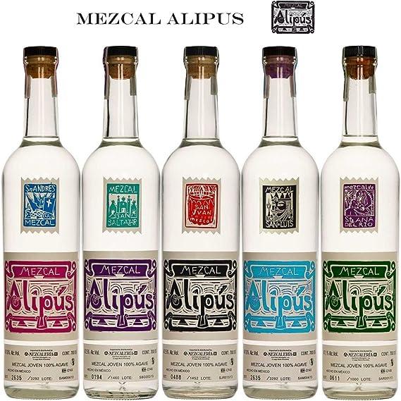 Alipus Mezcal San Juan Joven - 700 ml: Amazon.es: Alimentación y bebidas