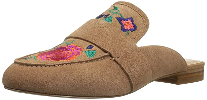 Image result for The Fix Women's French Floral Embroidery Slide Slip-on Loafers
