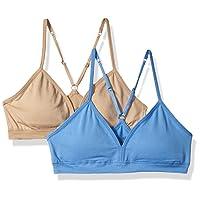 Girls Comfort Flex Fit Seamless on The Go Racerback Bra 2-Pack