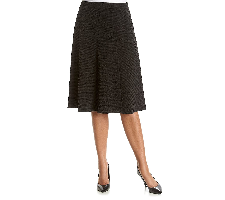 Relativity Plus Size A-Line Skirt best - hammerheadprotection.com