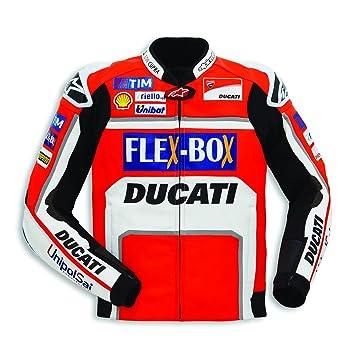 Ducati Chaqueta de piel Réplica GP 17