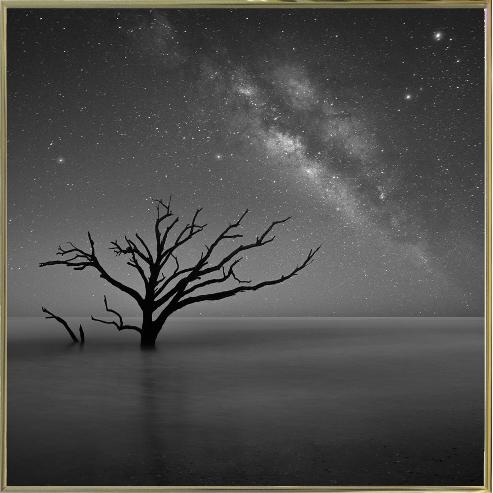 Frame Usa Milky Way In Botany Bay Framed 28 3x28 3 By Moises Levy Moilev145258 Print