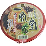 Nissin ippudo -Japan import instant noodles, Hakata pork bone based soup  (4 servings)