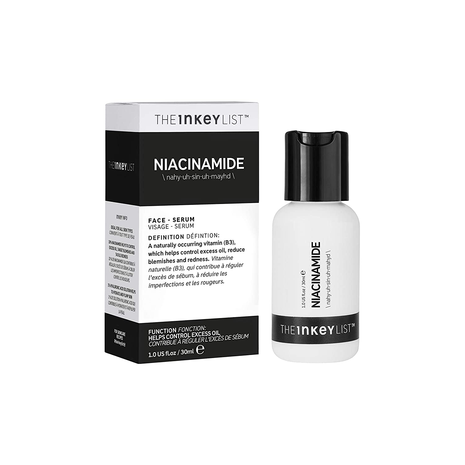 Amazon.com : The Inkey List Niacinamide, 30 ml : Premium Beauty