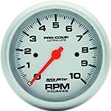 Auto Meter 4497 Ultra-Lite In-Dash Electric Tachometer,3.375 in.