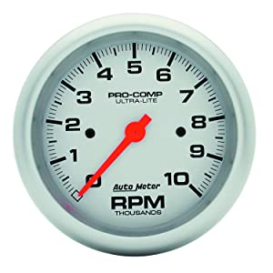 Auto Meter 4497 Ultra-Lite In-Dash Electric Tachometer