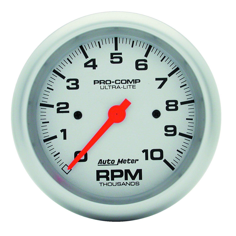 Auto Meter 4497 Ultra-Lite In-Dash Electric Tachometer