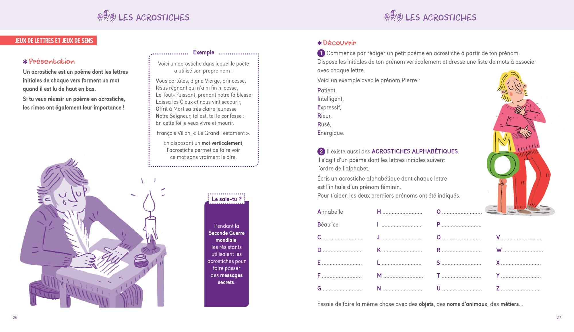 Jeux Et Activités Langue Française 9782351813386 Amazon
