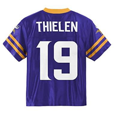 Outerstuff Adam Thielen Minnesota Vikings #19 Purple Youth Home Player Jersey