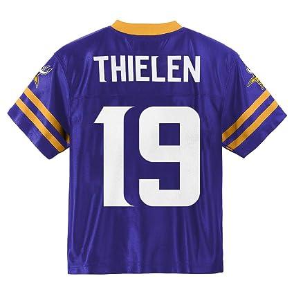 brand new 6e75b 16b94 Outerstuff Adam Thielen Minnesota Vikings #19 Purple Youth Home Player  Jersey