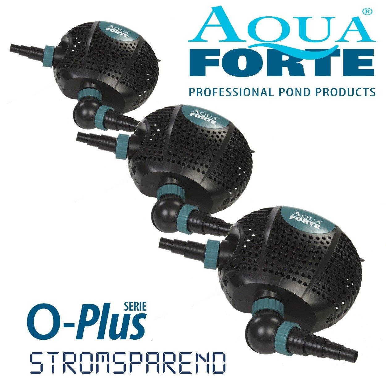 colorways incredibili AQUAFORTE Acquaforte Pompa per stagno di di di filtraggio Oplus 8000 8m³ h, altezza di mandata 4,5 m, 70 Watt  punto vendita