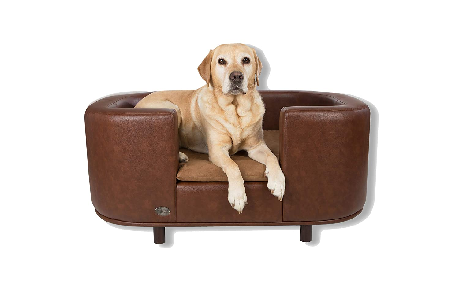 Chester & Wells Hampton Dog bed Medium Brown