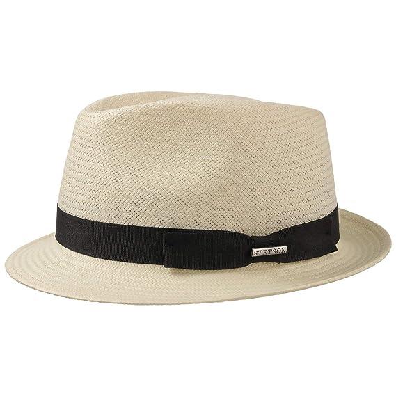 d037b417 Stetson Salisbury Toyo Straw Trilby Men | hat Summer Fedora with Grosgrain  Band Spring-Summer