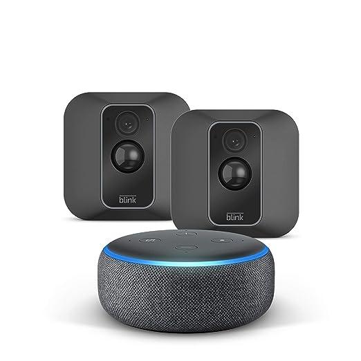 Die Neue Blink Xt2 System Mit 2 Kameras Echo Dot 3rd Gen Anthrazit Stoff Funktioniert Mit Alexa Alle Produkte