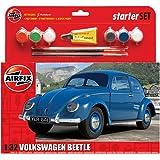 Airfix - Ai55207 - VW Beetle - Kit De Démarrage - 53 Pièces - Échelle 1/32