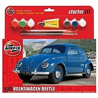 Airfix 1:32 Scale VW Beetle Starter Gift Set