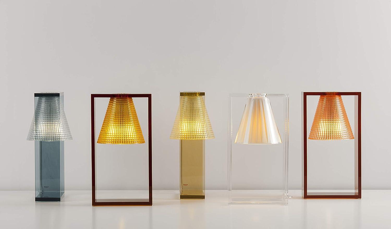 Kartell light air lampada applique sculturata ambra amazon