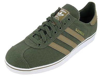 3c0a67f2240d7 Adidas Originals Gazelle Canvas Classic Shoe - Q23157- Size 10 ...