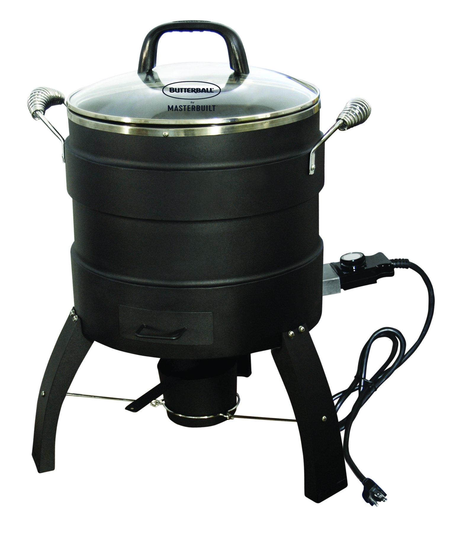 Masterbuilt MB23010809 Oil Free Roaster Electric Fryer, Black by Masterbuilt