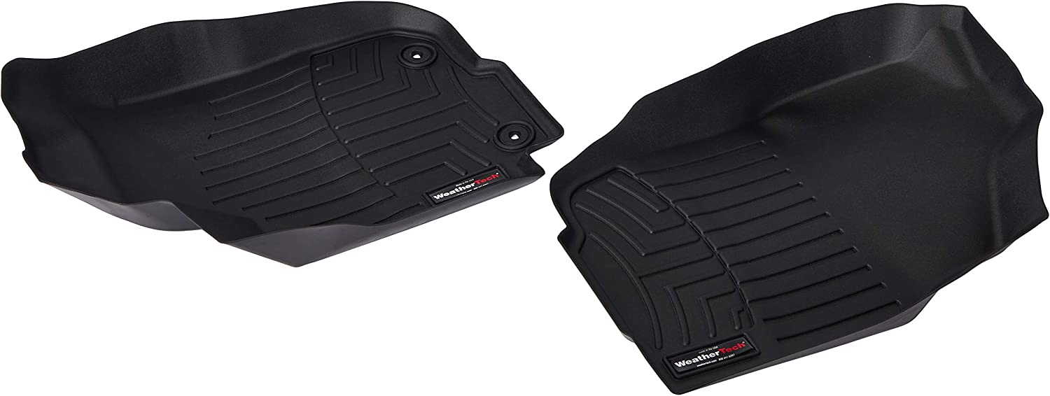 445101 FloorLiner, Front, Black WeatherTech
