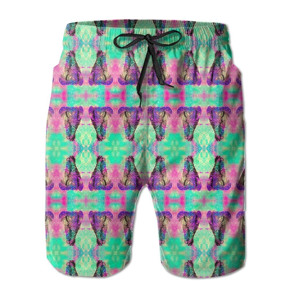 Breast Cancer Graphic Men's Basic Watershorts L With Pocket by OIYP