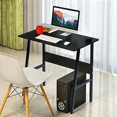 réglable Bureau Bureau d'ordinateur de bureau de ménage Bureau d'étudiant d'étudiant Bureau d'ordinateur portable table 4 couleurs disponibles 80 * 48cm Peut être tourné ( Couleur : D