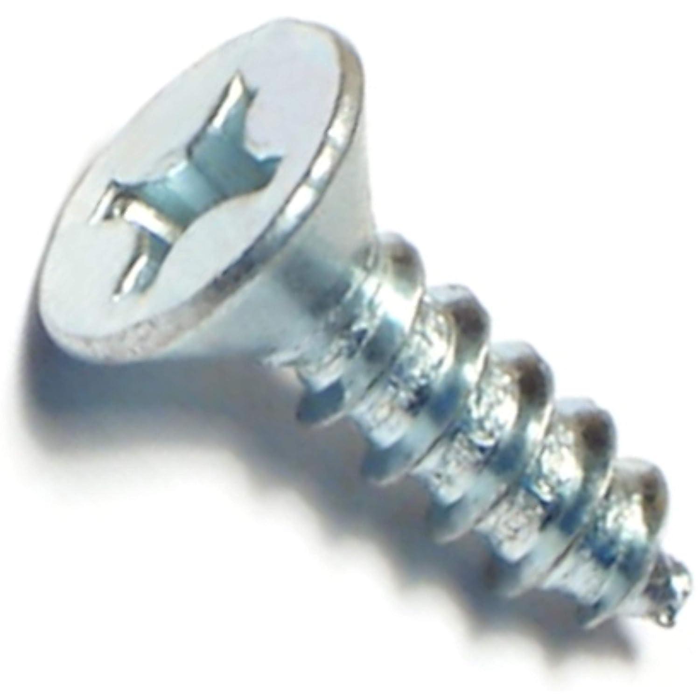 12 x 3//4 Hard-to-Find Fastener 014973290863 Phillips Flat Sheet Metal Screws Piece-100