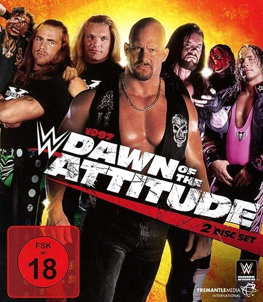 WWE: 1997 Dawn of the Attitude Era Alemania Blu-ray ...