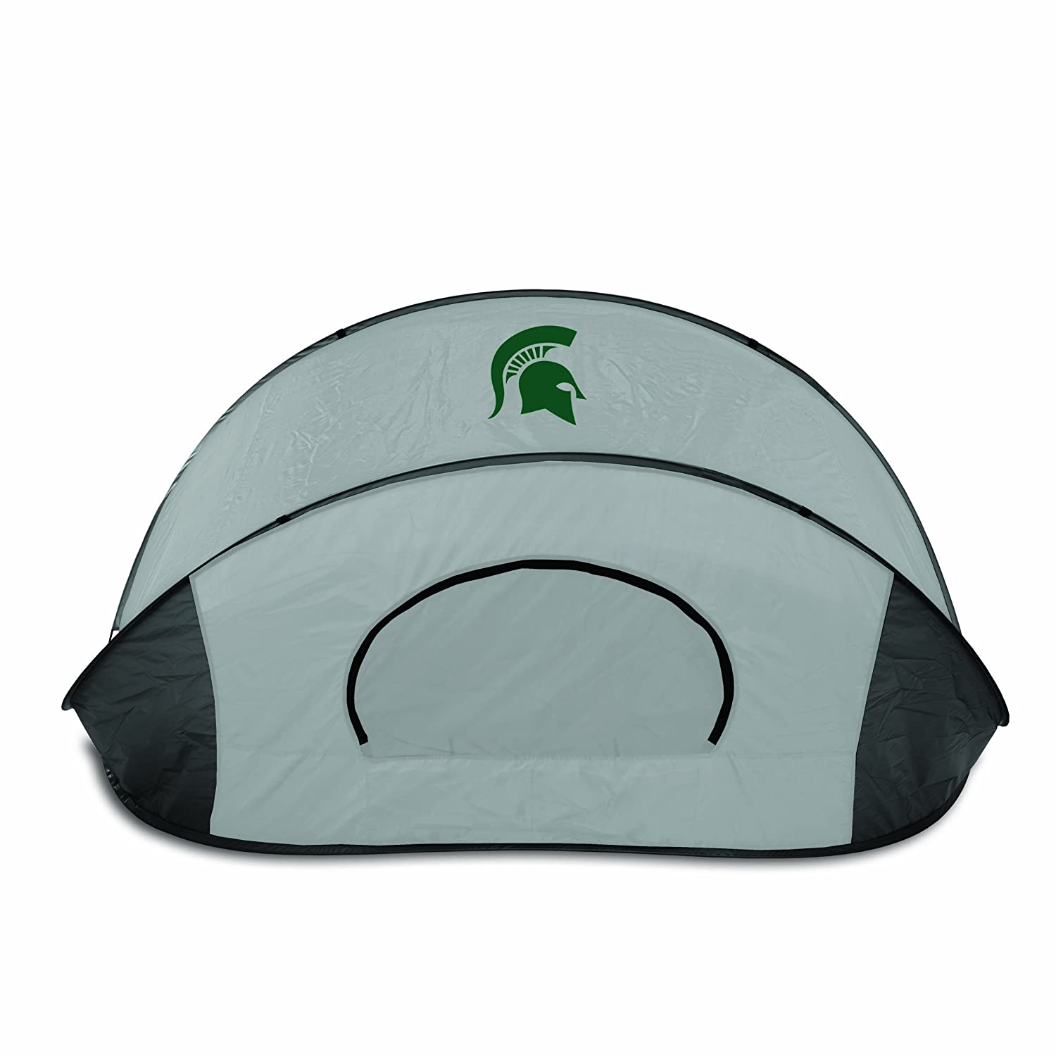 NCAA Michigan State Spartans Manta Portable Pop-Up Sun/Wind Shelter by Picnic Time   B00AAVGSHI