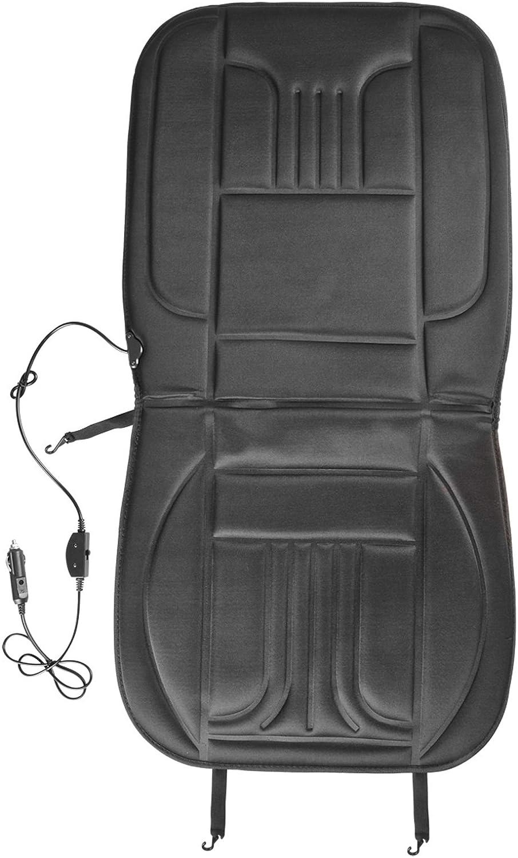 Transporter und Wohnmobil 2 Heizbare Sitzauflage 12V Deluxe 2 Stufen 35//45 Watt f/ür Zigarettenanz/ünder ideal f/ür Auto