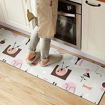 GZ Tapetes/Colchonetas de Cocina de alfombras Líneas de ...