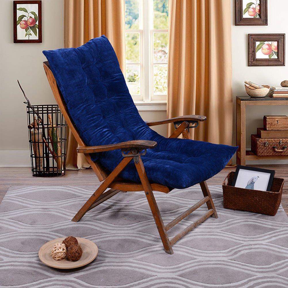 Cojines reclinable otoño e invierno, cojines de la silla del apretón apretón del del viejo hombre, espese los cojines calientes de la silla, cojines de sofá(incluyendo tapetes solamente)-D 120cm50cm 80b10b