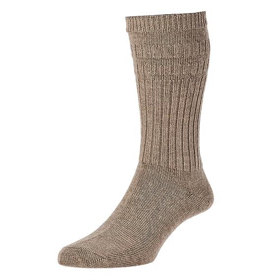 2 unidades para hombre/the Present store - Calcetines No Elásticos lana ricos calcetines térmicos, varios colores y tamaños Beige marrón: Amazon.es: Ropa y ...