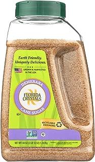 product image for Florida Crystals Demerara Cane Sugar, 44 Ounce - 6 per case.