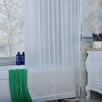 YHviking Frosted Shower Curtain Waterproof Mildew Partition Thickened Bathroom Curtain100 Eva Matte