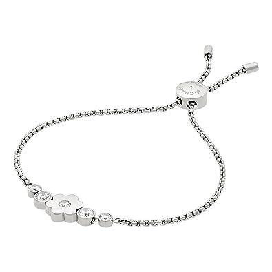 Michael Kors Women's Silver Bracelet MKJ6618040 1LzydBlSn